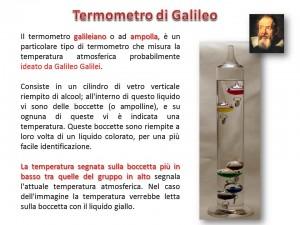 termometro galileiano